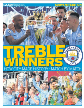 TREBLE WINNERS - Champions Special 18/19
